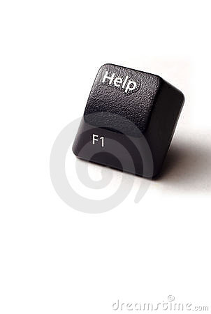 Help button from computer keyboard