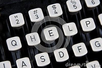 HELP keys on old keyboard