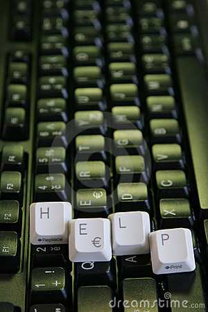 Help Keys Vertical