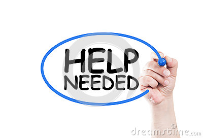 Image result for help needed sign