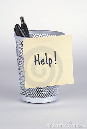 Help! Post-It Note