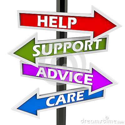Free Help Support Advice Care Royalty Free Stock Photos - 28785298