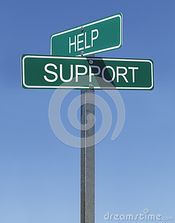 Free Help Support Sign Royalty Free Stock Image - 39639736