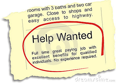 Help Wanted Ad Stock Photos, Images, & Pictures - 34 Images