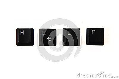 Help - word from keyboard keys