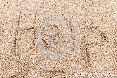 Help! write sand