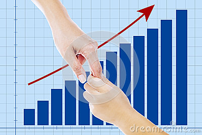 A helping hand on business growth