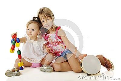 Helping Sister Play
