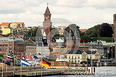Helsingborg Редакционное Стоковое Изображение