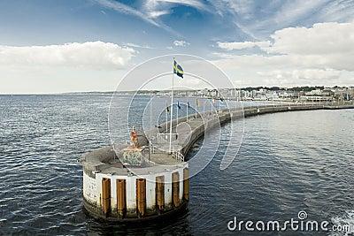Helsingborg harbor Editorial Photography