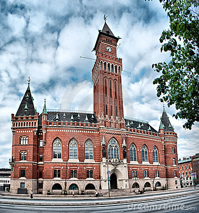 Free Helsingborg Town Hall Stock Photos - 16576783