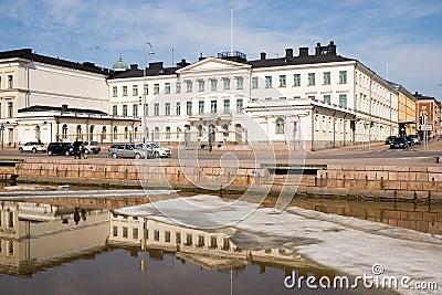 Helsinki. Finland. Presidential Palace