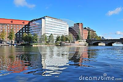Helsinki. Kaisaniemi bay