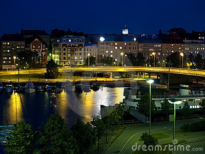 Helsinki in Night