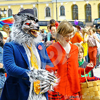 Helsinki Pride gay parade Editorial Photo