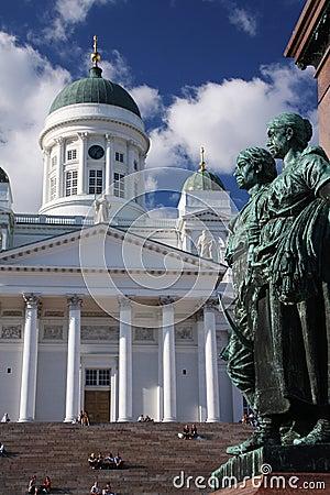 Helsinki statue Editorial Stock Photo
