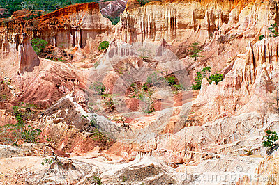 Helvetets kök, Marafa kanjon