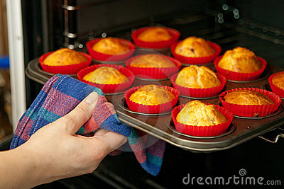 Hemlagade muffiner