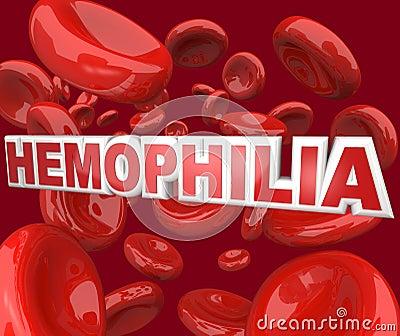 Hemophilia Disorder Disease in Blood Stream Cells