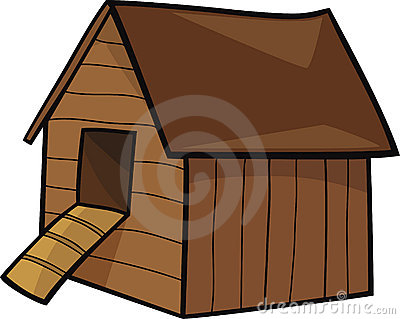 Chicken House Clipart