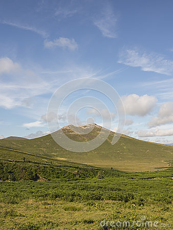 Hen mountain in the Mournes Ireland