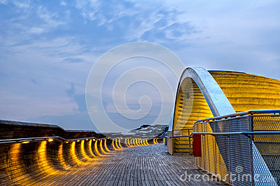 Henderson Waves in Singapore Editorial Image