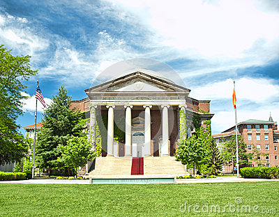 Hendricks chapel Editorial Stock Photo