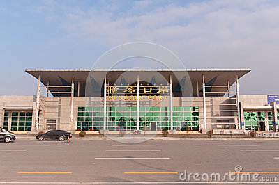 Hengqin port Editorial Stock Image
