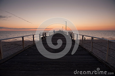 Henley Beach Sunset