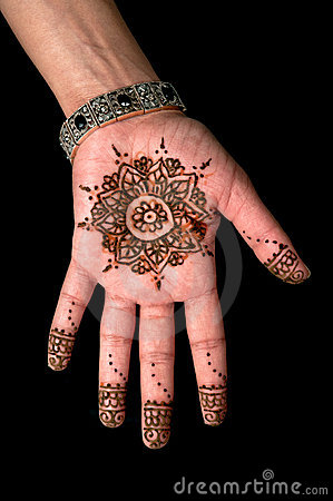 Free Henna - Mehendi Tattoo - Body Art 01 Stock Photography - 23141152