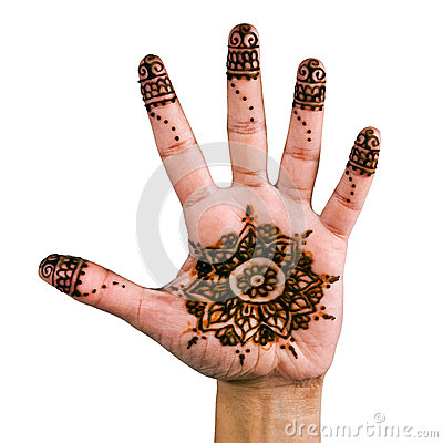 Free Henna - Mehendi Tattoo - Body Art 03 Royalty Free Stock Photos - 27857578