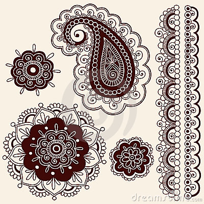 Collection Of Paisley Vector Patterns Photos, Images, & Pictures ...