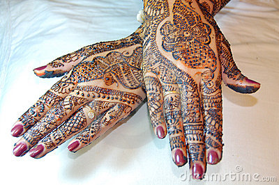 Henna Tattoo Design on Hands