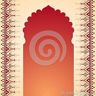 Free Henna Temple Gate Design Stock Photo - 47322180