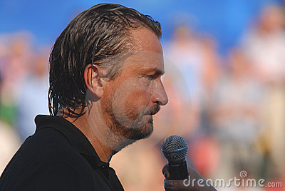 Henri Leconte Editorial Stock Photo