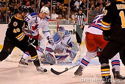 Henrik Lundqvist New York Rangers Editorial Stock Photo