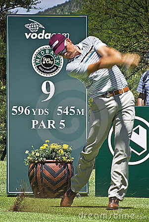 Henrik Stenson - 9th Tee - NGC2009 Editorial Photo