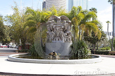 Henry B. Plant Museum Fountain