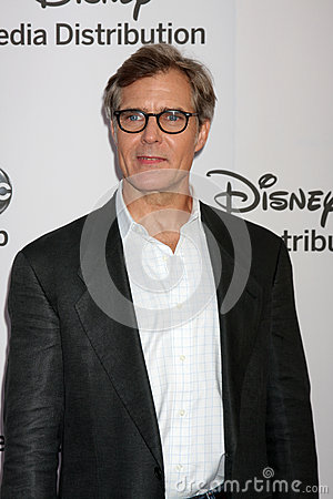 Henry Czerny arrives at the ABC / Disney International Upfronts Editorial Image