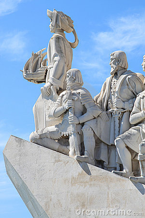 Henry the Navigator Monument in Lisboa, Portugal Editorial Photography