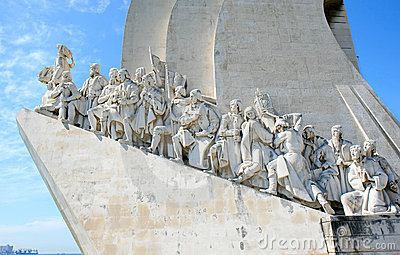 Henry the Navigator Monument in Lisbon, Portugal Editorial Stock Photo