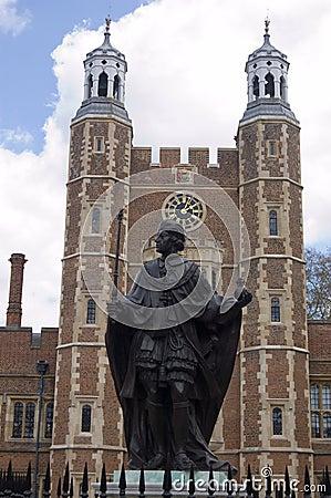 Henry VI Statue, Eton College, Berkshire