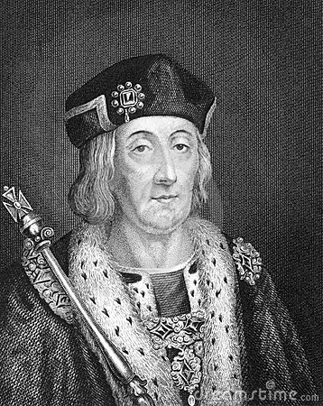 Henry VII Editorial Stock Image