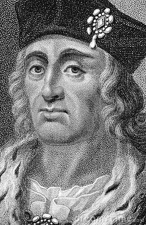 Henry VII Editorial Stock Photo