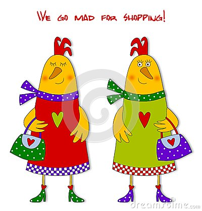 Hens. Fashion victims