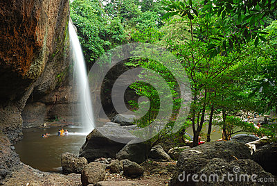 Heo Suwat Waterfall, Khao Yai National Parks