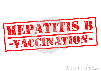 HEPATITIS B VACCINATION Stock Photo