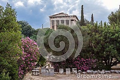 Hephaestus Temple Athens Greece
