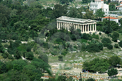 Hephaisteion temple in Athens
