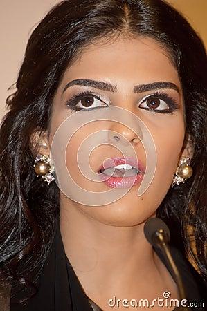 Her Highness Princess Ameerah Al Taweel Editorial Stock Image